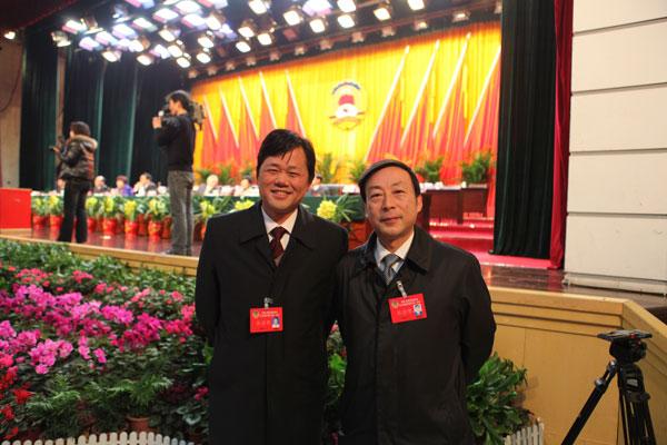 会长卢景川出席中国人民政治协ManBetX客户端iOS议第三届亳州市委员会第一次会议